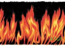 Etykieta ogień