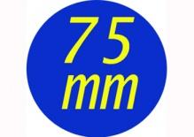 Butony 75 mm