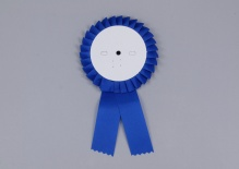 Kotylion niebieski