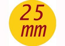 Butony 25 mm