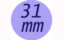 Butony 31 mm
