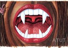 Etykieta zęby