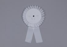 Kotylion biały